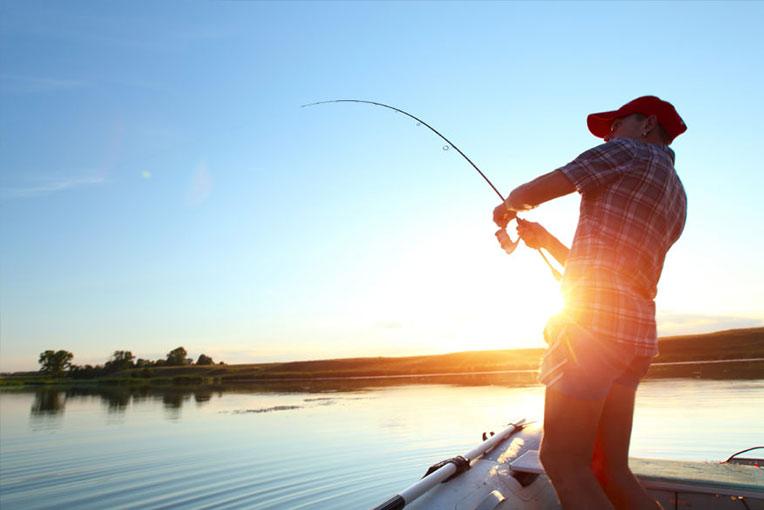 Dia de pesca embarcado